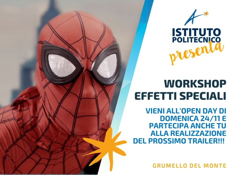workshop effetti speciali